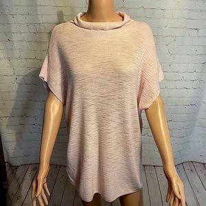Lou & Grey light pink turtleneck sweater! NWOT
